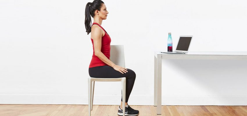 Super 7 Desk Exercises at Work to Keep You in Shape!