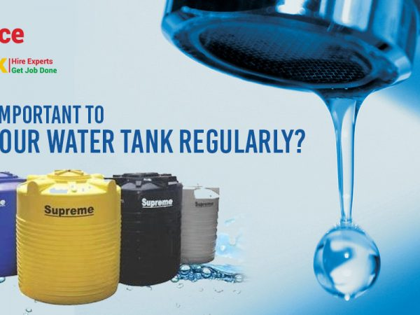 Why is it important to clean your water tank regularly?